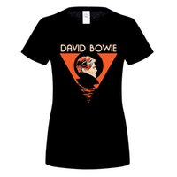 David Bowie Una rock star è andata in paradiso Womens Lovely T Shirt Cotton O Neck T Shirt