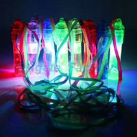 Wholesale whistle led party - Colorful Luminous Led Flashing Whistle Kids Children Toys Festival And Party Novelty Items Noise Maker Free Shipping JF-975