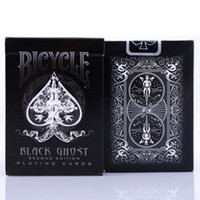 Wholesale bicycle collection resale online - Ellusionist Bicycle Black Ghost Playing Cards Original Poker Cards for Magician Collection Card Game