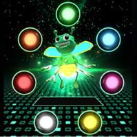 Wholesale Lantern Favors - Bright Bugz Magic Finger Tricks Honeybee Magic Lantern Gifts Mini Magic Lights Toy Party Favors CCA9260 100pcs