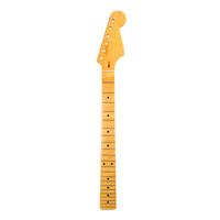 части электрические оптовых-Электрическая гитарная шея для электрических гитарных шейных деталей для замены Maple Black Dot Inlay 22 Fret