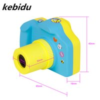 Wholesale mini sd card 32g - Kebidu Portable Mini Camera Cute Digital Cam 1080P Video Recorder Pink Blue Color for Baby Boys Girls Support 32G TF MIC SD Card