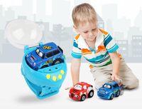 relojes de control al por mayor-Juguetes para bebés Coche de detección de gravedad 4CH RC Coches de control de gestos de coches con reloj portátil Controlador 4 colores Control remoto regalo de coche para niños