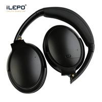 microfone de qualidade sem fio venda por atacado-Auscultadores Bluetooth V12 cancelamento de ruído Sem Fio Fones De Ouvido microfone Embutido Recarregável Boa qualidade ANC Fones De Ouvido Fones De Ouvido pk QC35