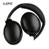 mikrofonlu kablosuz bluetooth kulaklık toptan satış-Bluetooth Kulaklıklar V12 gürültü iptal Kablosuz Kulaklıklar Dahili mikrofon Şarj Edilebilir kaliteli ANC Kulaklıklar Kulaklıklar pk QC35