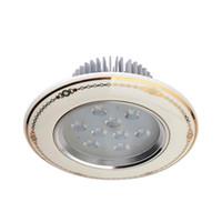 cerámicas luz de techo al por mayor-9W AC 85-240V 900LM 6000K Lámpara de techo de cerámica LED Bombilla (Blanco)