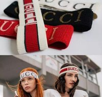 Wholesale Women and Men Best Quality headband Greed and Red Striped Hair bands Head Scarf For Women Girl Headwraps Gifts