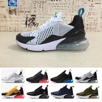 Wholesale Media Photos - New 270 Teal Running shoes Navy Mens Flair Triple Black Trainer Sports Shoe Medium Olive Bruce Lee Womens 270s Photo Blue Sneakers 36-45