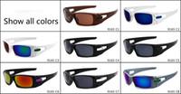 Wholesale model woman glasses for sale - Model Brand Designer Sunglasses Men and Women Outdoor Sport Dazzle Color Square Glasses Eyewear Cool Sun Glass Colors