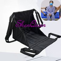 Wholesale beds china online - medical transfer belt hemiplegia care multi purpose shoulder type shift pad bed moving belt made in china