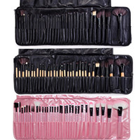 Wholesale lips making online - Professional Makeup Brushes Set Portable Full Cosmetic Make up Brushes Tool Foundation Eyeshadow Lip brush with Bag