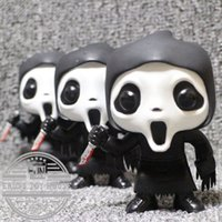 gebrauchte spielwaren großhandel-Funko Pop Second-Hand Horror Kinder Spielzeug Scream -Ghostface Vinyl Action Figure Sammeln Modell Spielzeug billig keine Box