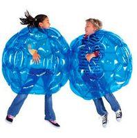 aufblasbare körper stoßkugeln großhandel-Aufblasbare Körper Bumper Ball PVC Luftblase Outdoor Kinder Spiel Bubble Buffer Bälle Outdoor-Aktivität 60 cm