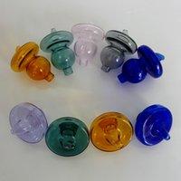 ingrosso olio dome dabber-Colorato UFO Quartz Banger Bubble Carb Cap Cappello Cupola stile per quarzo termico P Banger Nails Biber Bong di vetro Dab Oil Rigs