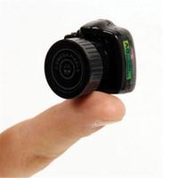 Wholesale smallest portable camera - Wholesale-Apleok Y2000 HD Smallest Mini Camera Digital Photography Video Audio Recorder DVR DV Camcorder Portable Web Kamera Micro Camera