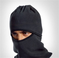 Wholesale wind protection masks resale online - Portable Wind Proof Cap Cashmere Cycling Winter Bicycle Hats Helmet Protection Full Face Mask With Multi Color mx jj