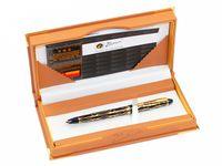 caneta grátis venda por atacado-Pimio 901 Paris Exotica Luxo Ouro Iridium Fountain Pen com 0.5mm Nib Metal Canetas de Tinta Escrita Presente Do Escritório Frete Grátis