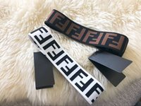 Wholesale black hair fashion for sale - EPCAKET FEN Designer Elastic Headband for Women and Men Fashion Famous Hair bands scarf Women Girl Retro Turban Headwraps Gifts