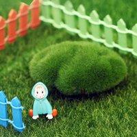 ingrosso tappeto falso-15 * 15/30 * 30 cm micro paesaggio muschio emulazione falso tappeto erboso ping bottiglia ecologico prato artificiale giardino natale decorazione del partito