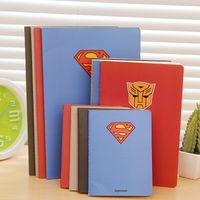 a6 merkzettel großhandel-Hot Series Hero A6 A5 B5 Notebook Tagebuch Buch Übung Zusammensetzung Notizblock Escolar Papelaria Geschenk Schreibwaren Für Jungen