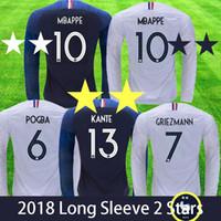 Venta al por mayor de Camiseta De Manga Larga De Francia - Comprar ... a3c669be9c664
