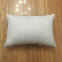 12x18 blank linen pillow case for dye sublimation 100% polyester burlap look cushion cover plain linen pillow cover ( 20 pcs lot )