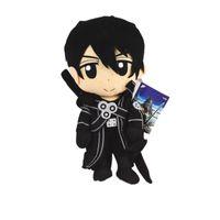Wholesale flashing plush for sale - Anime Sword Plush Art Online Asuna Krito Plush Soft Stuffed Doll Toy for kids gift EMS