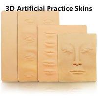 ingrosso fogli di pratica della pelle del tatuaggio-3D Tattoo Practice Skin Soft Sheet per Tattoo Needle Machine Supply Kit di trucco permanente semi coreano Microblading