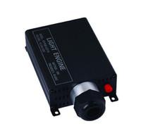 светодиодные двигатели оптовых-16W волоконно-оптический свет привел двигатель RF беспроводной пульт дистанционного ввода AC100 ~ 256V Fiber двигателя 16W LED диммер для ПММА волоконно-оптического кабеля огней