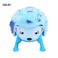 Wholesale interactive pet toys for kids - Kids Hedgehog Shaped Electronic Cute Pet Touch Toy with Hedgehog Roll Induction Interactive Educational Toys for Boys Girls Gift