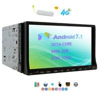 кошка mp4 оптовых-Eincar OCTA CORE 2 ГБ+32 ГБ Android 7.1 Cat стерео DVD-плеер автомобиля 7