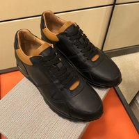 Wholesale Men Clothing Shoes - 2017 hot sale Leather luxury brand men's clothing with top quality and high-end custom fashion comfortable and breathable casual shoes