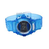 los mejores relojes digitales a prueba de agua. al por mayor-Reloj digital de moda para niños, niñas, niños, estudiantes, reloj deportivo digital impermeable, erkek kol saati, el mejor regalo de envío.