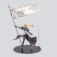 Wholesale saber lily pvc resale online - Huong Anime Figure CM Fate Apocrypha Jeanne d Arc Saber Lily PVC Action Figure Collectible Toy Model