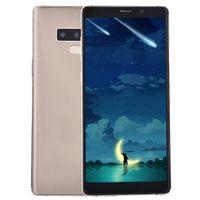 kamera gsm großhandel-Günstige Goophone Note9 Note 9 2G GSM entriegelt 512 MB 512 MB + 32 GB 5,72 Zoll IPS 960 * 540 QHD Dual Core MTK6572 GPS WiFi 5.0MP Kamera Smartphone