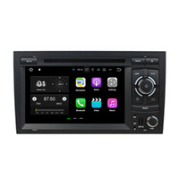 Wholesale audi a4 bluetooth resale online - 2GB RAM Quad Core din quot Android Car Audio DVD Player Car DVD for Audi A4 S4 With Radio GPS G G WIFI Bluetooth GB ROM