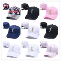 yaz şapkaları erkek toptan satış-Yeni Moda Yaz Yeni marka erkek tasarımcı şapka ayarlanabilir beyzbol kapaklar lüks lady moda şapka yaz trucker
