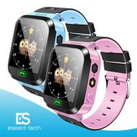 Wholesale apple babies - Q528 Smart Watch Children Wrist Watch Waterproof Baby Watch With Remote Camera SIM Calls Gift For Kids pk dz09 gt08 a1 SmartWatch