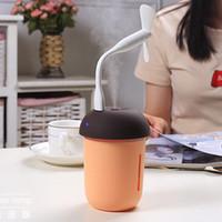 Wholesale water color meter for sale - Group buy Multi functional in USB Charging Car Air Purifier Water Meter Fan Color LED Nightlight Mushroom Humidifier