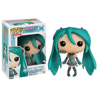 Wholesale dolls vocaloid miku - Funko POP Vocaloid - Hatsune Miku Vinyl Action Figure With Box #39 Gift Doll Toy Free Shipping
