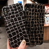 Wholesale Oppo Cell - Luxury bling bling diamond soft PC cell phone cases for iphone x 7 8 5 6 6S cover OPPO R9S R11 R11pLus VIVO X9 X9 Plus