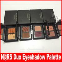 sombra de duas cores venda por atacado-Maquiagem Duo Sobrancelha Sombra Em Pó Fosco Terra Duas Cores Da Sombra de Longa Duração Natural Paleta De Duas Cores Kuala Lumpur