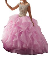 Wholesale mail art online - The new pink tutu adult Quinceanera Dresses size can be customized back strap collar wrapped in gauze dress bag mail leaf shoulder charge