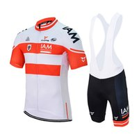 Wholesale Iam Cycling - New IAM cycling jersey 2018 ropa ciclismo hombre team cycling clothing quick dry short sleeve shirt  bib shorts mtb maillot ciclismo A1003