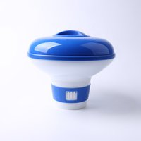 Wholesale pool online - 5 Inch Garden Swimming Pool Chlorine Dispenser Practical Design Waterproof Brief Tools Floating Unique Auto Style For Water Park hs ZZ