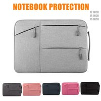 Wholesale apple notebooks laptops - DLIVE Waterproof Fabric Laptop Sleeve Case Bag Notebook Bag Case For Apple MacBook Pro 11.6-15.6 Inch for pad and notebook