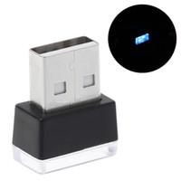 Wholesale order car resale online - Mini LED Car Atmosphere Light Decorative Lights Lamp For Car USB Light in Bulk Order