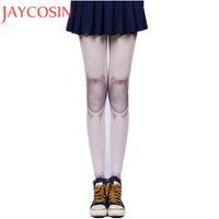cosplay dövmesi toptan satış-Kadın Auturm Bahar dövme Ortak Çorap Eklemli Bebek BJD Tayt Külotlu Lolita Cosplay Ortak Serin Tayt Çorap Jan20