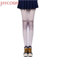 Wholesale Dolls Tattoo - Women Auturm Spring tattoo Joint Stockings Jointed Doll BJD Tights Pantyhose Lolita Cosplay Joint Cool Tights Stockings Jan20