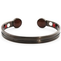 ingrosso grandi braccialetti di rame-Braccialetto magnetico all'ingrosso di energia del braccialetto magnetico di salute del rame del 99% di grande magnete registrabile 6 per l'artrite